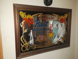 Used, Antique Pabst Blue Ribbon mirror for Sale for sale  Pinehurst, TX