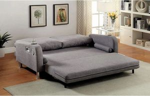 Ohana Futon sofa bed - Built-in Speakers & Cup Holders $539.00. Super sale! Limited time offer! for Sale in Ontario, CA