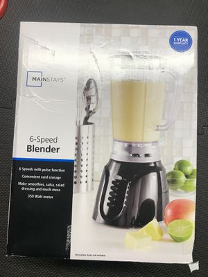 Mainstays 6 speed blender for Sale in Pataskala, OH