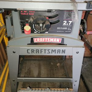 Craftsman Table Saw 2.7 Hp for Sale in Benicia, CA