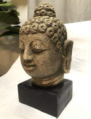Heavy Decorative Buddha Head Statue for Sale in Los Angeles, CA