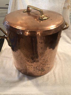 Gillard copper pot for Sale in Dallas, TX