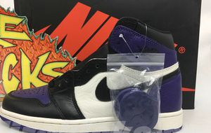 Jordan 1 court purple 1.0 (size7) men and women Limited!!! for Sale in Menands, NY