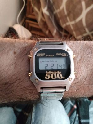 Rare and callatable Indianapolis 500 watch for Sale in Tacoma, WA