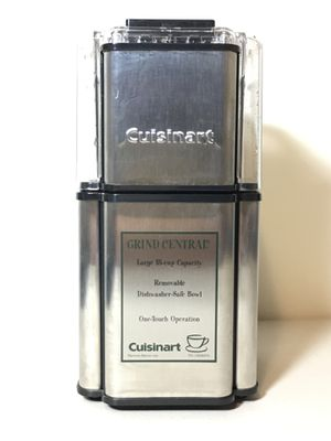 Cuisinart DCG-12BC Stainless Steel Grind Central Coffee Grinder 18 Cup for Sale in Brooklyn, NY