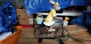 Bunny on bicycle for Sale in Lawrence, MA