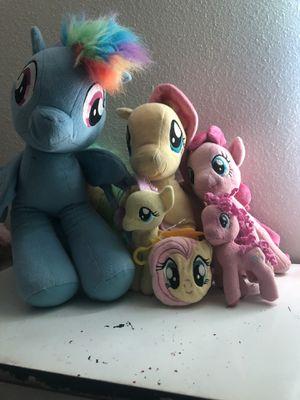 My little pony plushies for Sale in Phoenix, AZ