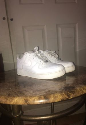 Nike Air Force 1 men's white for Sale in Haines City, FL