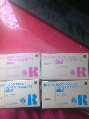 Ricoh Color Toners $30 for all 6 OBO! for Sale in BETHEL, WA