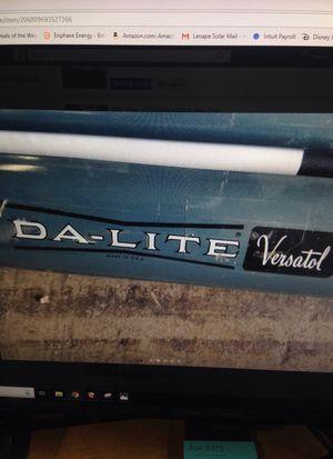 Da-Lite projector with tripod 5' for Sale in Sunbury, PA
