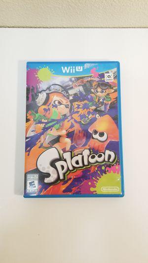 Nintendo Wii U Splatoon (776142-13) for Sale in Tacoma, WA