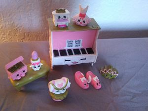 Shopkins Ballet Set Excellent Condition for Sale in Garland, TX
