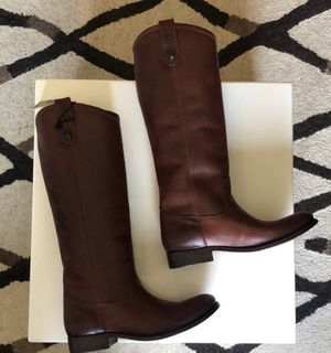 Frye boots: Melissa button in cognac size 7.5 for Sale in Salinas, CA