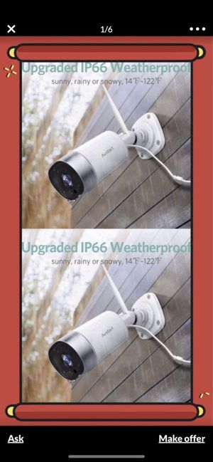 Hd Home security camera , waterproof for Sale in Alhambra, CA