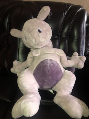 2 Feet Pokemon 1999 Mewtwo Plush doll for Sale in Hayward, CA