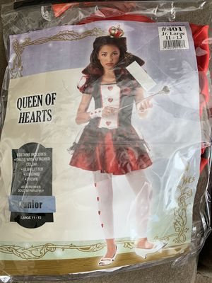 Costume queen of hearts for Sale in Manassas, VA