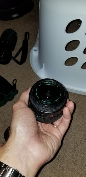 Quantaray mx af 35-80 52mm lens for Sale in Fallbrook, CA