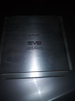 """Kicker CVR 1 15"""" 1500 watt Evo amplifier for Sale in Joliet, IL"""