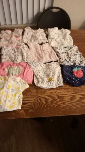 Baby girl sleepers for Sale in Santa Ana, CA