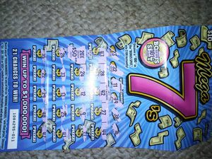 California lottery ticket: winner; if you dont owe state or federal taxes can turn it in today$800 hit me up for Sale in Lodi, CA