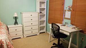 Night stands book shelve table and table chair for Sale in Winchester, VA