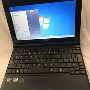 Toshiba NB-505 Laptop Windows 7 Spanish, Spanish Character Keyboard for Sale in Carson, CA