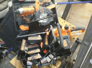 Black & Decker Skillsaw, impact gun and chainsaw for Sale in Kearns, UT
