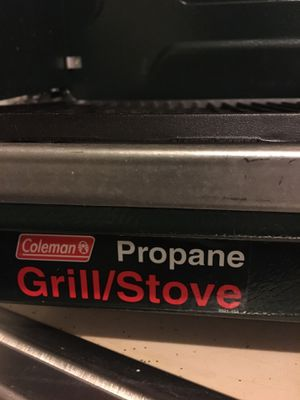 Coleman Propane Grill/Stove for Sale in Halethorpe, MD