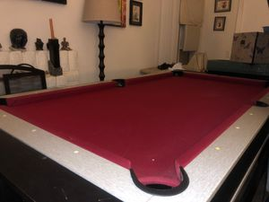 Pool table/ air hockey table for Sale in Norco, CA
