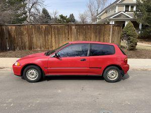 1993 Honda Civic Hatchback for Sale in Boulder, CO