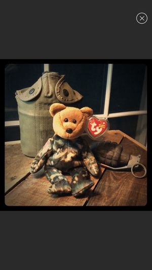 "TY ""Hero"" Army Bear Beanie Baby collectible for Sale in Rocky Point, NY"