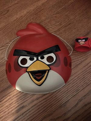 Toddler Angry Birds Mask and Slap Wrist Band for Sale in Rockville, MD