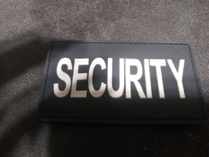 Security Velcro patch 3x5 for Sale in Springfield, OR