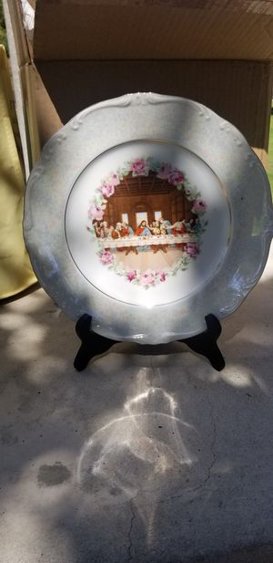 Last Supper Picture Decor Plate Vintage for Sale in Riverside, CA