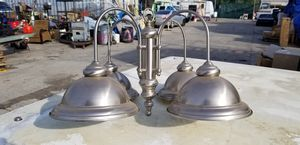 Stainless steelHanging lamp for Sale in Brea, CA