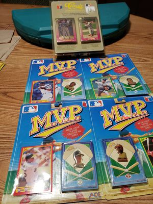 4 m.v.p. major league players collector pin series & a classic mlb board game for Sale in Elmwood Park, NJ