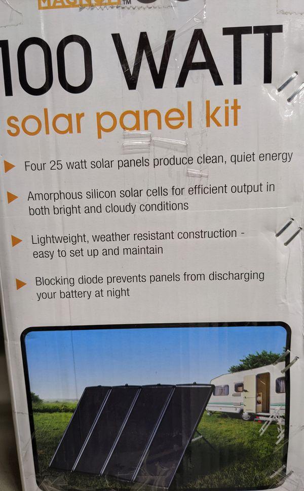 Solar panel like new