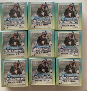 9 mega boxes bowman chrome for Sale in Las Vegas, NV