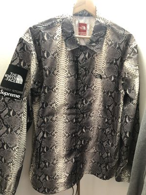 Supreme x The North Face Snakeskin Coach Jacket for Sale in Alexandria, VA