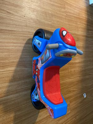 Spider-Man motorcycle toy for Sale in Salinas, CA