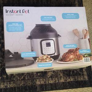 Instant pot 6qt duo crisp+air fryer for Sale in Markham, IL