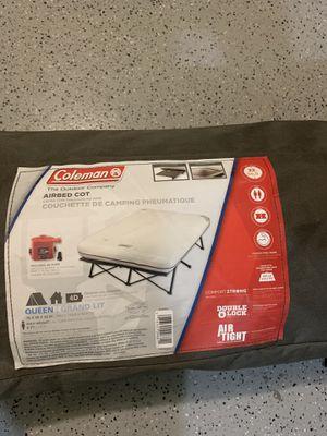 Coleman queen air mattress w/ pump for Sale in Seattle, WA