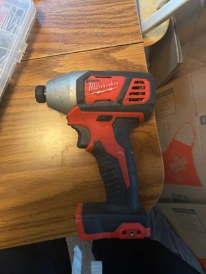 Milwaakee impact drill for Sale in St. Louis, MO