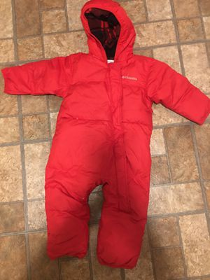 Columbia snow suit 12-18 months for Sale in Bloomfield, NJ