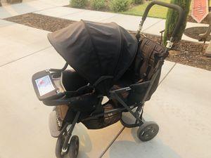 Joovy caboose double stroller for Sale in Clovis, CA