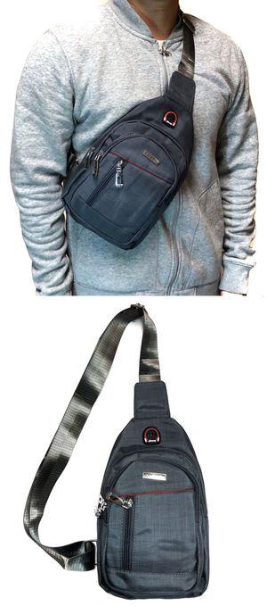 NEW! CrossBody Side Bag Backpack messenger satchel cell phone tablet holder wallet biking school bag work bag sling chest bag for Sale in Carson, CA