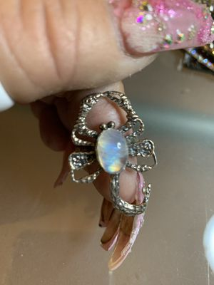 Sterling silver Rainbow scorpion Moonstone for Sale in Las Vegas, NV