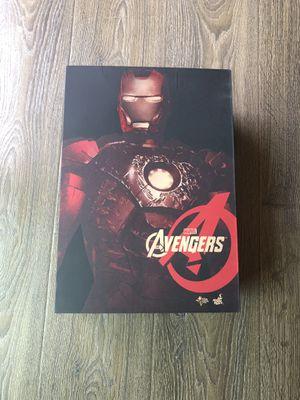 hot toys iron man mark vii battle damaged movie masterpiece for Sale in Inglewood, CA