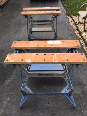 2 heavy duty Black and Decker work benches for Sale in Oak Lawn, IL