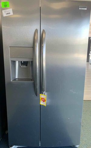 New Frigidaire counter depth refrigerator!! Fridge side by side! Comes with Warranty 2TXT for Sale in Houston, TX